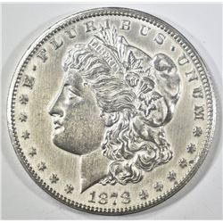 1878-CC MORGAN DOLLAR  AU/BU  CLEANED