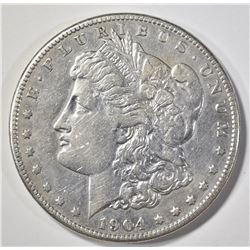1904-S MORGAN DOLLAR  XF