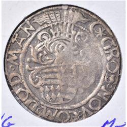 1486-1526 SILVER GROSCHEN GUNTHER IV GERMAN STATES