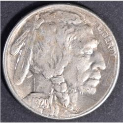 1920 S BUFFALO NICKEL  AU/BU