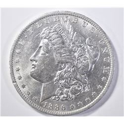 1886-O MORGAN DOLLAR AU/BU