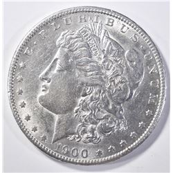 1900-S MORGAN DOLLAR AU/BU