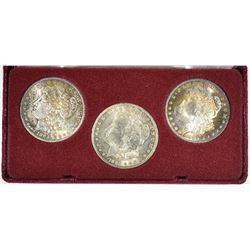 NEW ORLEANS MINTED MORGAN DOLLARS IN CASE: