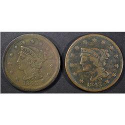 2-1843 LARGE CENTS