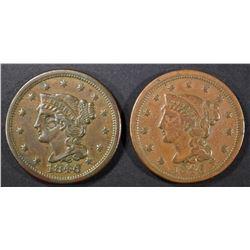 2-1846 LARGE CENTS: