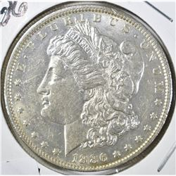 1886-O MORGAN DOLLAR, BU