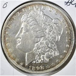 1892-O MORGAN DOLLAR,BU