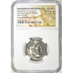 336-323 KINGDOM OF MACEDON BC ALEXANDER III 'THE G