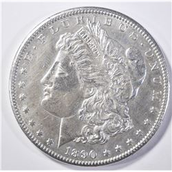 "1890-CC MORGAN DOLLAR ""TAILBAR"" BU"