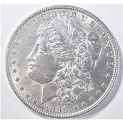 1899 MORGAN DOLLAR BU SCRATCH OBV.