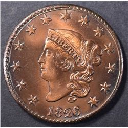 1826 LARGE CENT CH BU CLEANED