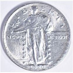 1920 STANDING LIBERTY QUARTER  GEM BU