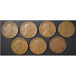 EARLY LINCOLN CENT LOT: