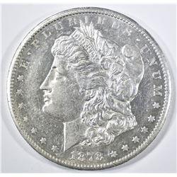 1878-CC MORGAN DOLLAR  AU/BU  FLASHY