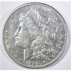 1888-S MORGAN DOLLAR  XF/AU
