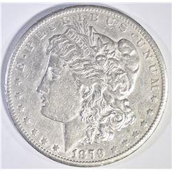 1879 CC MORGAN DOLLAR  AU+