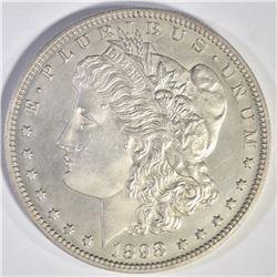 1898 GEM PROOF MORGAN DOLLAR  AU