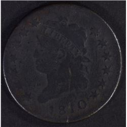 1810 LARGE CENT FINE CORROSION