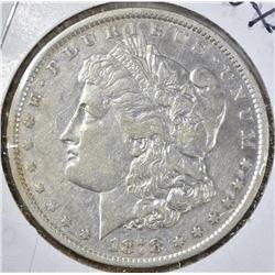 1878-CC MORGAN DOLLAR, XF