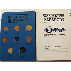 ANA World mints Passport 1991 Coin Collection in Original Book