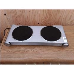 Delfino 2 Burner Hot Plate