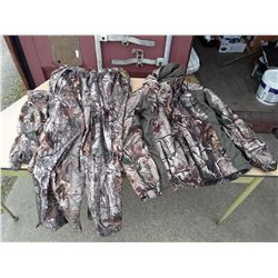 Camoflauge Set - Pants, Jacket, Gloves