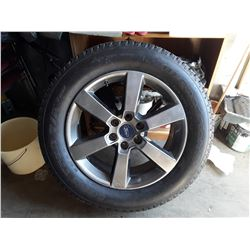 Ford Tire And Rim P275/55 R20 BF Goodrich
