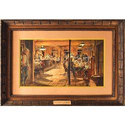 El Dorado Saloon Concept Painting