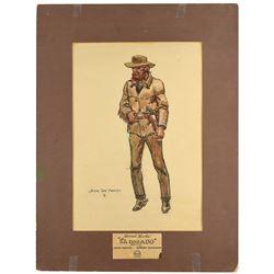 El Dorado Original Costume Design by Joe De Yong