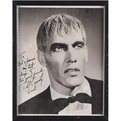 Addams Family: Ted Cassidy Signed Photograph