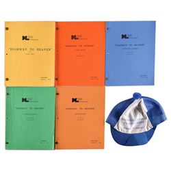 Highway to Heaven Lot of Scripts and Hat