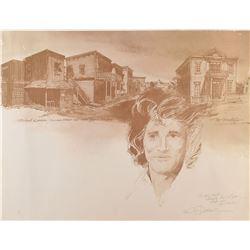 Michael Landon Kansas Street 'Little House on Prairie' Print