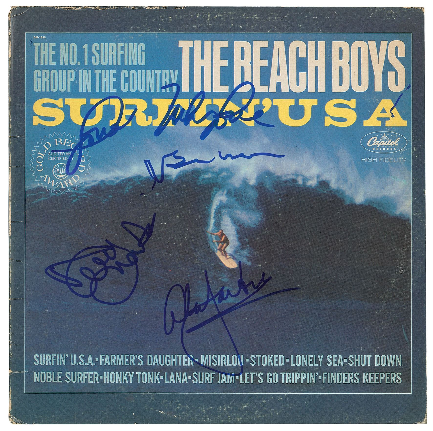 The Beach Boys Signed Album