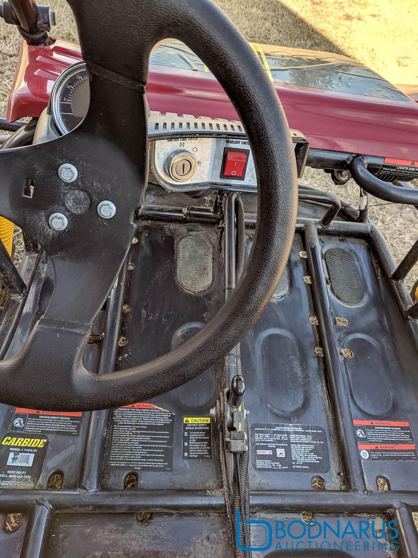 Carbide 150cc Dune Buggy