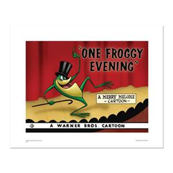 """One Froggy Evening"" Numbered Limited Edition Giclee from Warner Bros. with Certificate of Authentic"