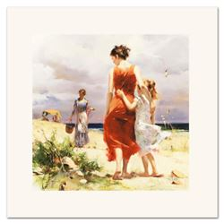 "Pino (1939-2010) ""Breezy Days"" Limited Edition Giclee. Numbered and Hand Signed; Certificate of Auth"