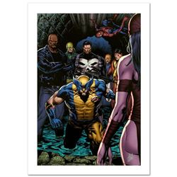 """Shadowland #4"" Limited Edition Giclee on Canvas by Billy Tan and Marvel Comics. Numbered and Hand S"