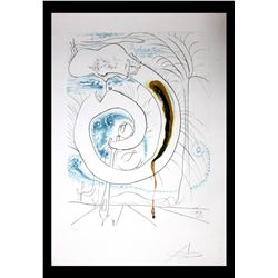 "Salvador Dali- Original Engravings with Lithographic Color ""The Visceral Circle of the Cosmos"""