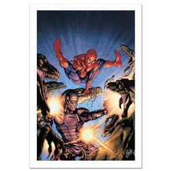 """Heroes For Hire #7"" Limited Edition Giclee on Canvas by David Yardin and Marvel Comics. Numbered an"