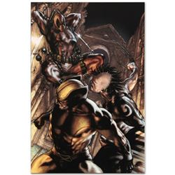 """Wolverine: Origins #25"" Limited Edition Giclee on Canvas by Simone Bianchi and Marvel Comics, Numbe"