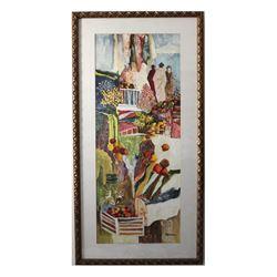 "Patricia Govezensky- Original Watercolor ""Early Years"""