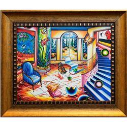"Alexander Astahov- Original Oil on Canvas ""On the Other Side"""