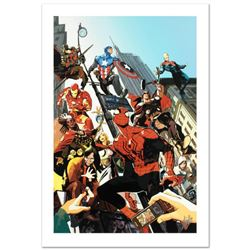 """""""Age of Heroes #1"""" Limited Edition Giclee on Canvas by Greg Tocchini and Marvel Comics. Numbered and"""