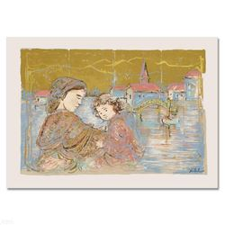 """""""Bridge of Life"""" Limited Edition Lithograph by Edna Hibel (1917-2014), Numbered and Hand Signed with"""