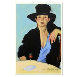 """Linda Kyser Smith, """"Let's Talk"""" Limited Edition Serigraph on Matt-Board, Numbered and Hand Signed wi"""