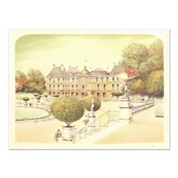 """Rolf Rafflewski, """"Paris III"""" - Limited Edition Lithograph, Numbered and Hand Signed."""