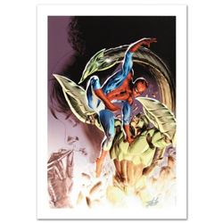 """""""Heroes For Hire #8"""" Limited Edition Giclee on Canvas by Doug Braithwaite and Marvel Comics. Numbere"""