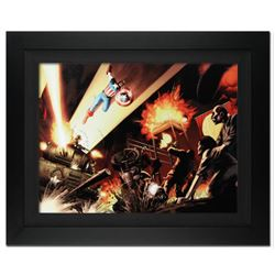 """Fallen Son: Death of Captain America #5"" Extremely Limited Edition Giclee on Canvas by John Cassada"