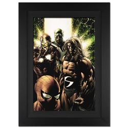 """New Avengers #8"" Extremely Limited Edition Giclee (29"" x 40"") on Canvas by Steve McNiven and Marvel"