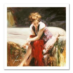 """Pino (1939-2010) """"Whispering Heart"""" Limited Edition Giclee. Numbered and Hand Signed; Certificate of"""